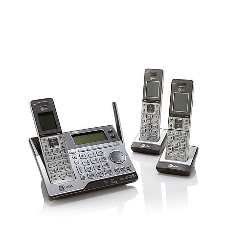 Shop AT&T DECT 6.0 3-pack Cordless Phones with Bluetooth, Power Backup, Digital Answering System and Link-To-Cell, read customer reviews and more at HSN.com.