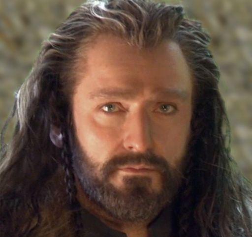 Richard Armitage as Thorin II Oakenshield in The Hobbit.