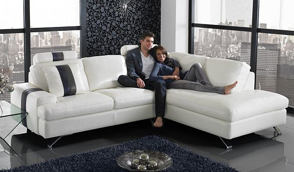 L Shaped Sofa Designs for Your Living Room This size is perfect just needs a change of color and comfort! Thank u