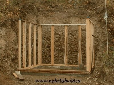 How to build a root cellar!