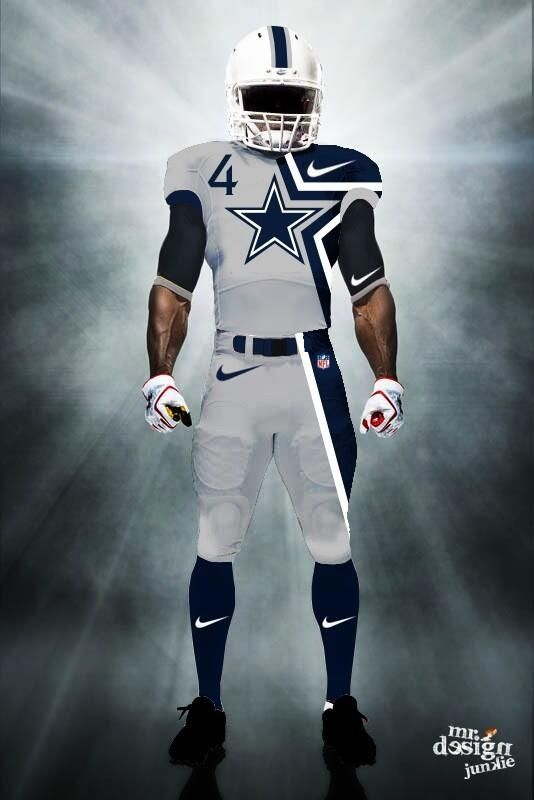 Dallas Cowboys concept uniform
