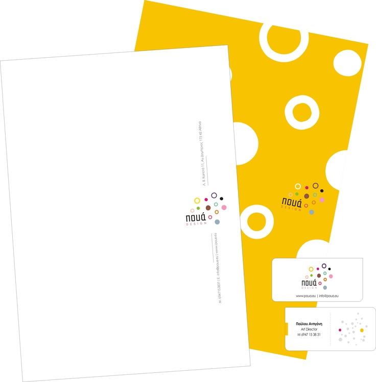 Corporate Identity for Poua Design