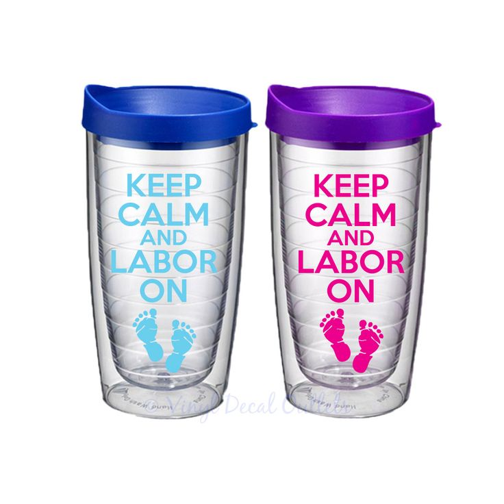 KEEP CALM and Labor On - Push Present - New Mom Gift - Labor and Delivery Nurse Gift - Gift for Nurse - Baby Shower Gift - New Mom Gift by VinylDecalOutlets on Etsy
