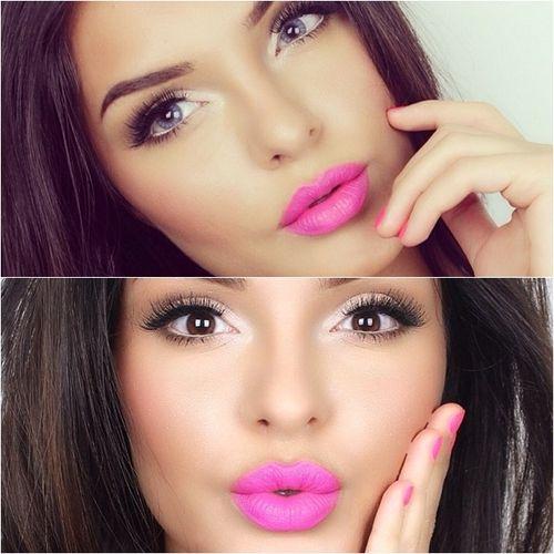 1000+ ideas about Pink Lipstick Makeup on Pinterest | Cut ...