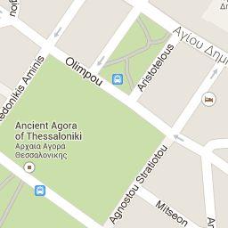 Thessaloniki Map | Tourist Guide Thessaloniki Night Life, History, Tavernas etc - Thessaloniki Info Guide