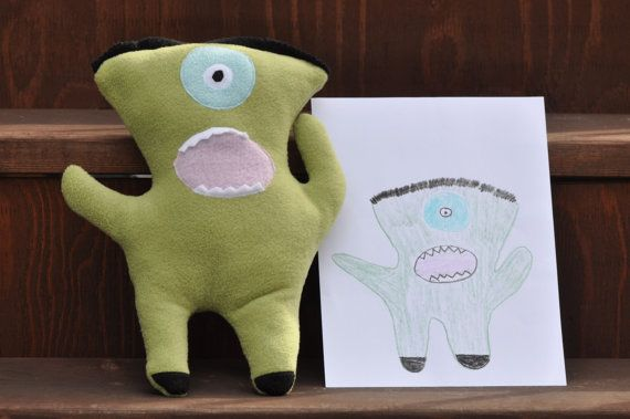 Children's drawings turned into real toys: Real Toys, Kids Drawings, Kid Drawings, Childrens Drawings As Toys 2, Stuffed Animal, Design