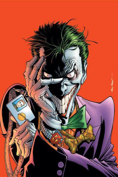 Great comic fan art of The Joker!