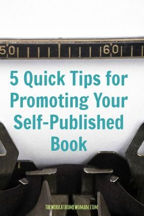 Have you self published a book, but you're not seeing a financial return? Angie shares some great tips for promoting your book through social media. via The Work at Home Woman