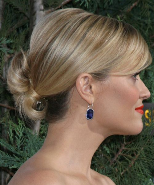 Reese Witherspoon Formal Straight Updo Hairstyle - Medium Blonde (Golden) - side view