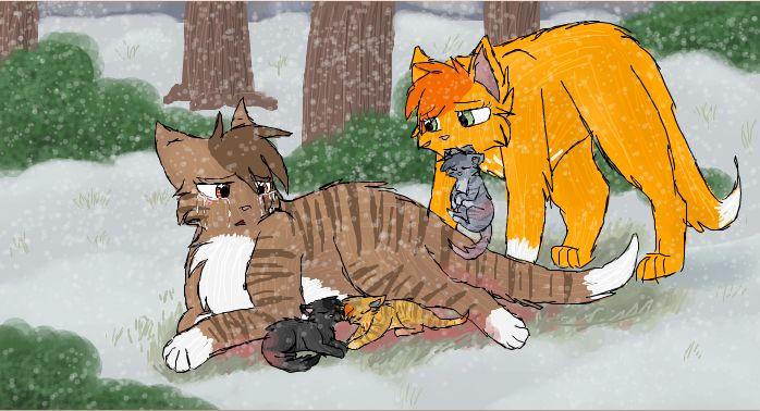 Warrior Cats Blossomkit SquirrelFlight ...