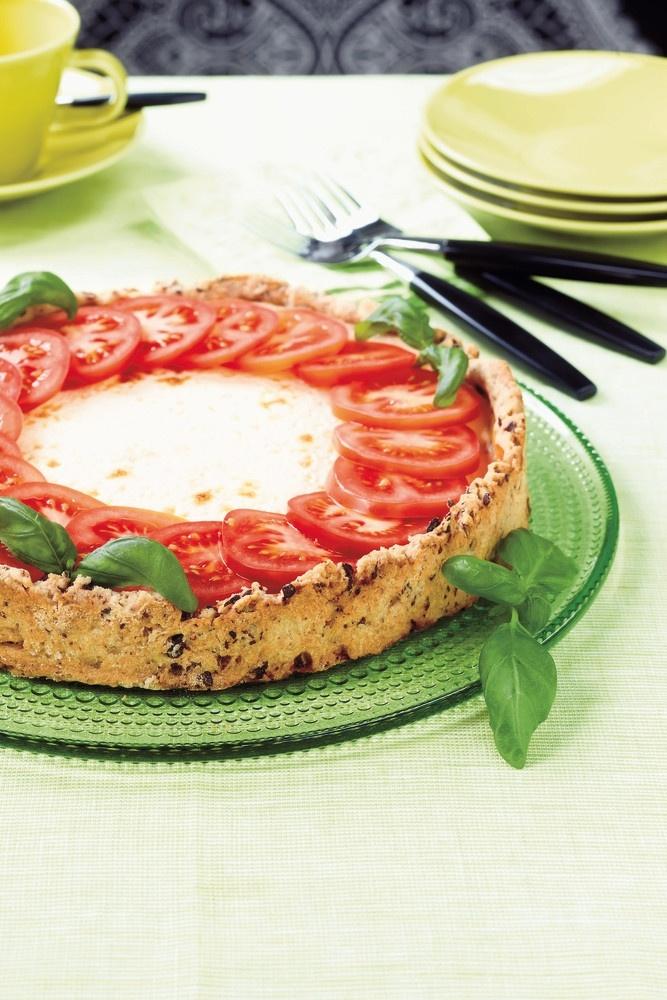 Tomaatti-vuohenjuustopiirakka | Piirakat ja pasteijat | Pirkka