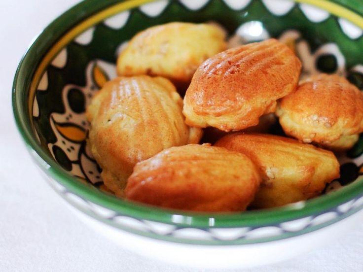 Duo mini-madeleines apéritif Maigrir 2000 : petits gâteaux salés légers pour l'apéritif. cette recette vous est proposée par les nutritionnistes du réseau Maigrir 2000.