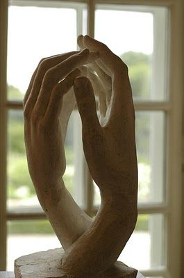'Cathedral', Rodin (1908?) [Gwen John's hands?]