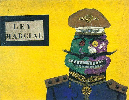 Ley marcial (1964), de Antonio Berni