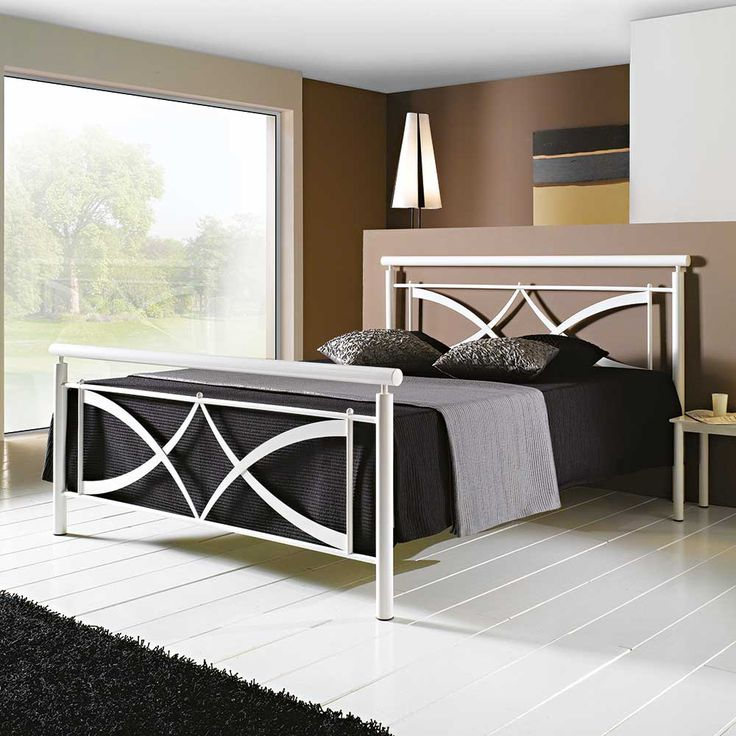 die besten 25 metallbett 140x200 ideen auf pinterest. Black Bedroom Furniture Sets. Home Design Ideas