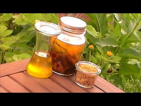 La Botica Escondida: ACEITE DE CALÉNDULA: Cómo prepararlo en casa, prop...