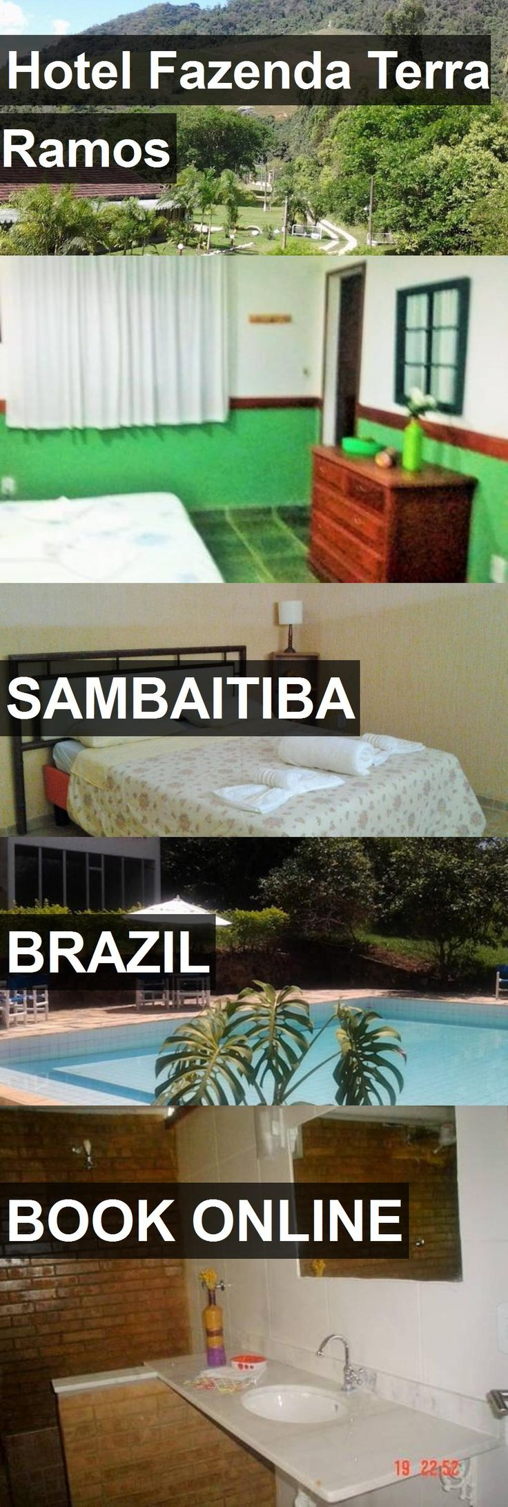 Hotel Fazenda Terra Ramos in Sambaitiba, Brazil. For more information, photos, reviews and best prices please follow the link. #Brazil #Sambaitiba #travel #vacation #hotel