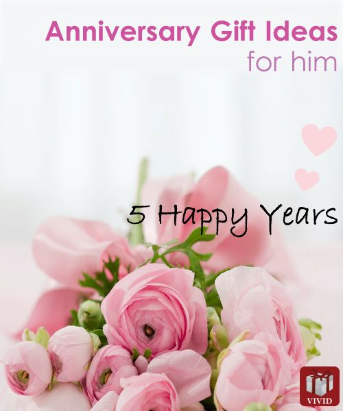 5th wedding anniversary gift ideas for him ideas for 5th wedding anniversary gift