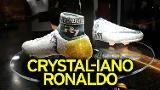 Cristiano Ronaldo's new crystal football boots