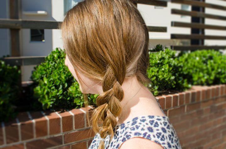 Basic Plait Hair Tutorial