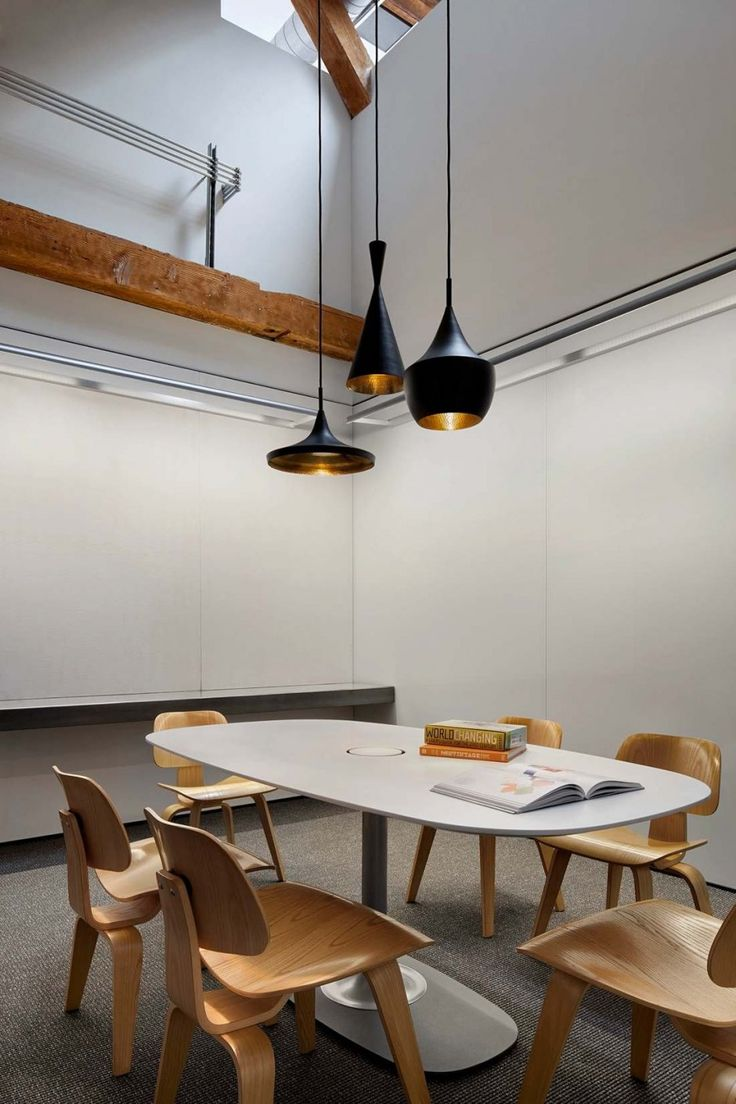 Tom Dixon + EamesTolleson Offices, Conference Room, Warehouses Offices, Huntsman Architecture, Interiors Design, Architecture Group, Interiors Lights, Wareh Offices, Offices Interiors