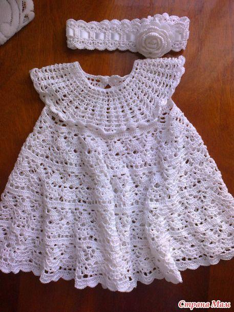 Крестильное платье и повязочка