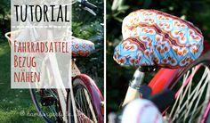 Fahrradsattel Bezug, Schnitt & Anleitung