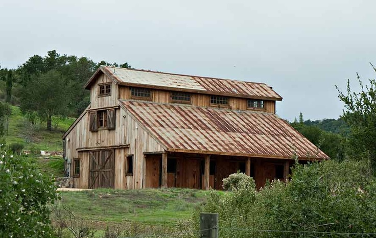 135 Best Images About Barns Stables And Metal Roofing On