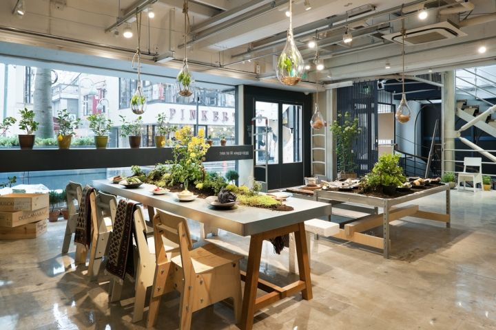 Today's Special Jiyugaoka flagship store by Schemata Architects, Tokyo store design