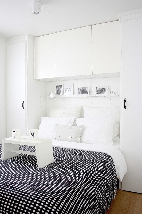 move bed into fitted wardrobe?
