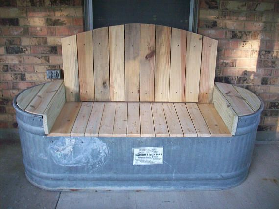 Water Trough Bench Water Trough Used Outdoor Furniture Outdoor Furniture Ideas Backyards