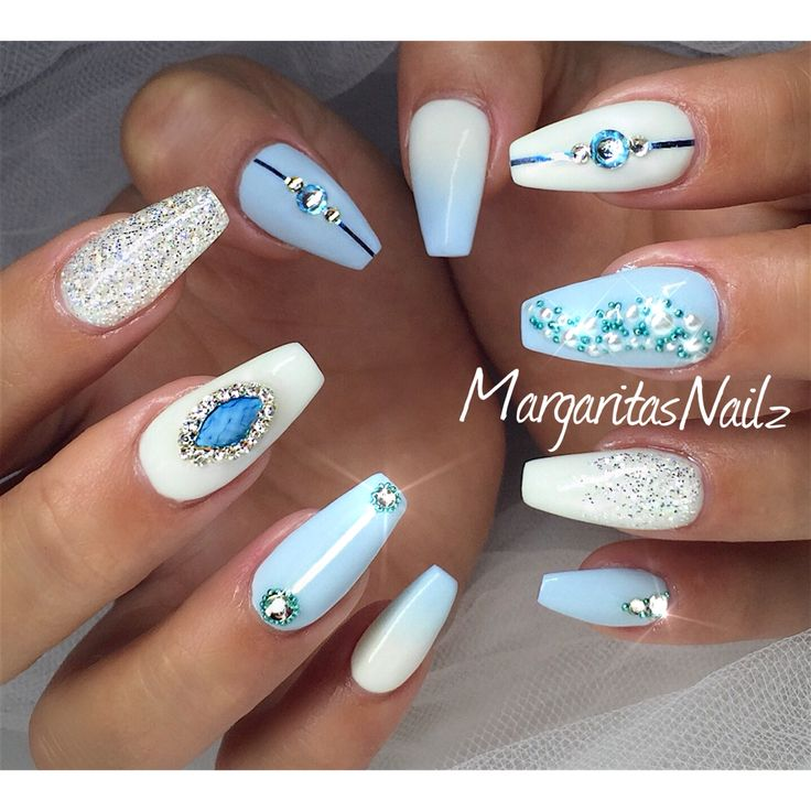 Cinderella Nails by Margaritanails from Nail Art Gallery - Best 25+ Cinderella Nails Ideas On Pinterest Disneyland Nails