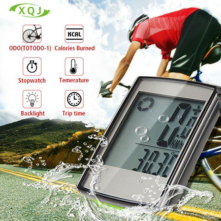 Bike Wireless Computadora de La Bicicleta Velocímetro de La Bicicleta A Prueba de agua Cronómetro Retroiluminación Temperatura En Accesorios Para Bicicletas batería
