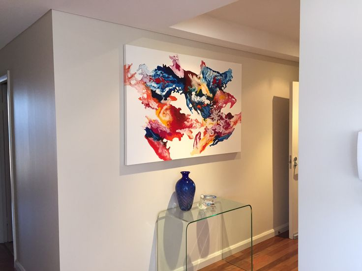 111 best Interior Design Artworks Abstract Art Ideas images on
