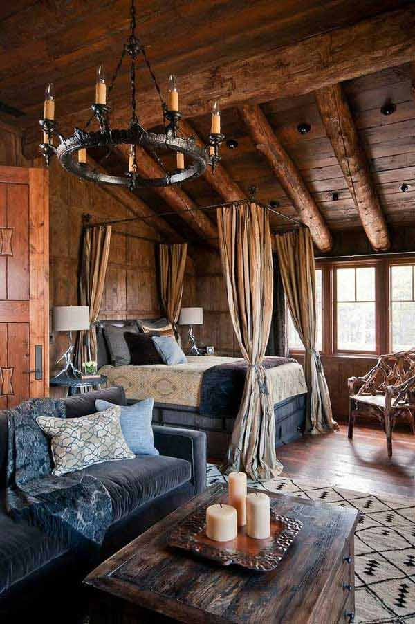 22 inspirational rustic bedroom designs for this winter –
