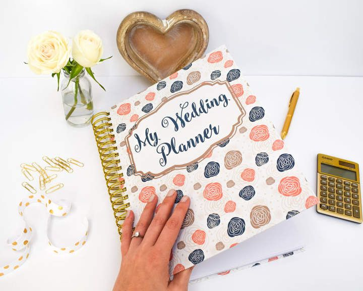 Etsy Bride Wedding Planner Book