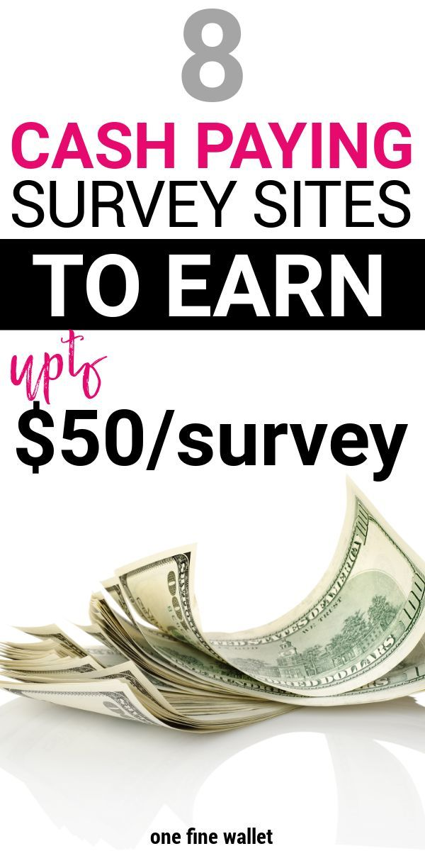 Surveys that pay CASH! – 2019 work from home jobs