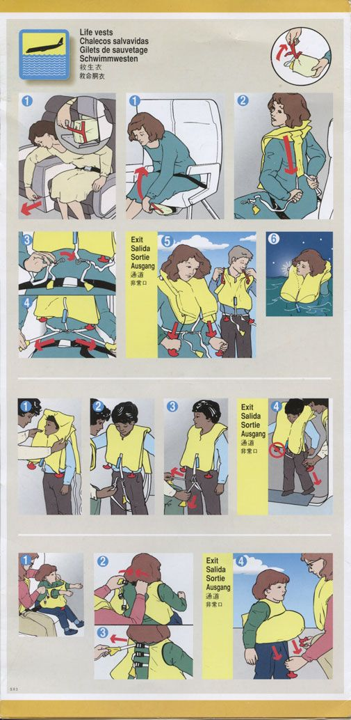 United Boeing 777-200   All Safety Cards: Collection of aircraft safety cards and in-flight safety videos