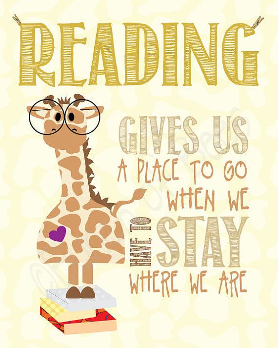"""""""Reading gives us a place to go when we have to stay where we are."""""""