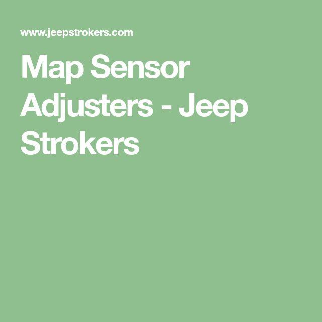 Map Sensor Adjusters - Jeep Strokers