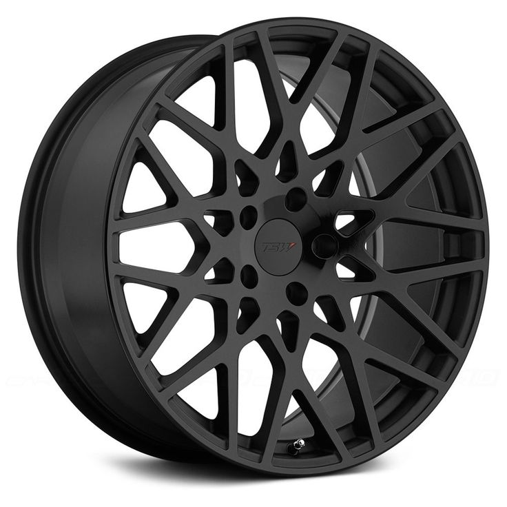 TSW® - VALE Matte Black with Gloss Black Face
