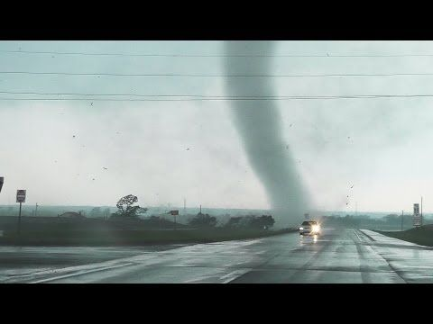 Absolutely Insane Chickasha Oklahoma Tornado Video From Up Close!!!!! - YouTube - has bad language