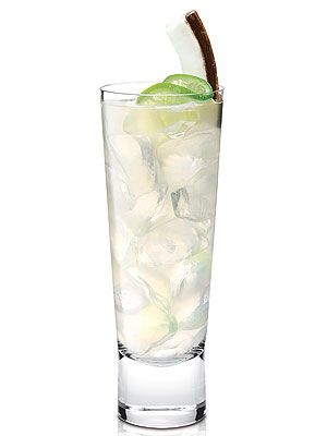The Yankee Doodle 1½ oz. SKYY Infusions Coconut vodka 3 oz. of