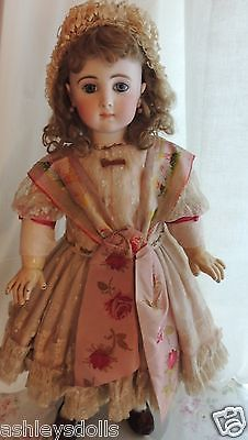 Antique Jumeau Triste French Doll Size 12 as Seen in Antique Doll Collector | eBay