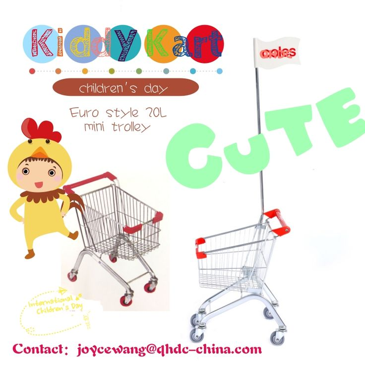 Kids shopping trolley 20 litre