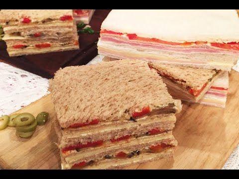 QUE PONGO PARA UNTAR LOS SANWICHES....El secreto de los sándwiches de miga por Xime