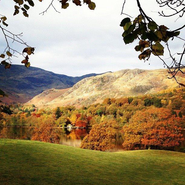 Autumn over Coniston