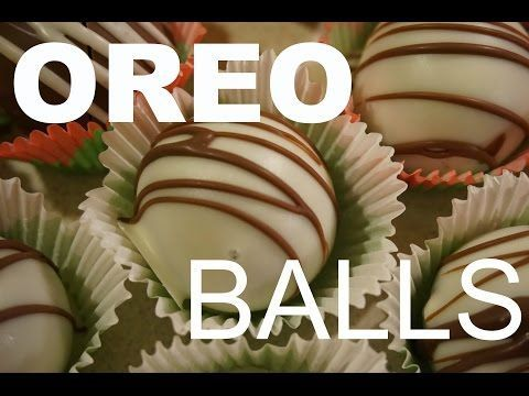 How to make Oreo Balls! I'm seriously going to start making these for my bday too!!! Thx for being my inspiration Ashley and Steph!!!