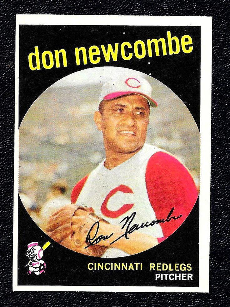1959 Topps Baseball DON Reds 312 Near Mint