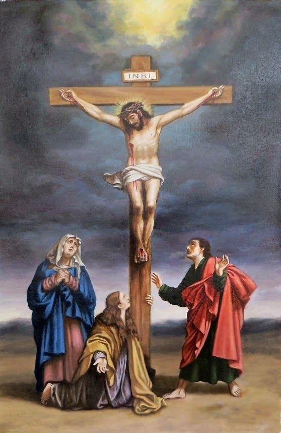 ARTE SACRO - Pintura Religiosa: CALVARIO